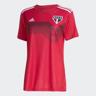 Camisa São Paulo adidas 70 anos Feminina