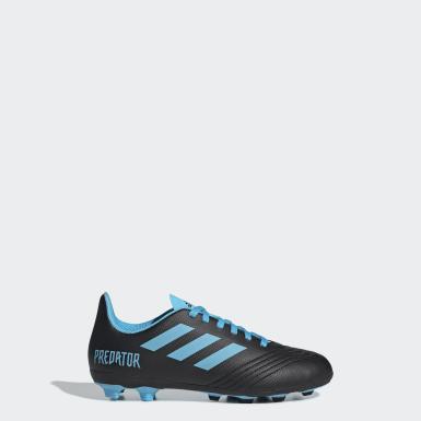 Boys Fodbold Sort Predator 19.4 Flexible Ground støvler