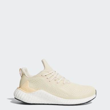 Sapatos Alphaboost Bege Running