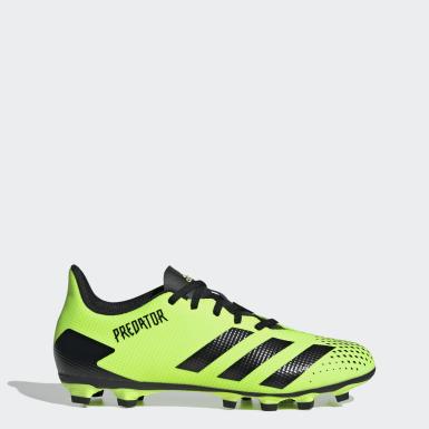 ผู้ชาย ฟุตบอล สีเขียว รองเท้าฟุตบอล Predator Mutator 20.4 Flexible Ground