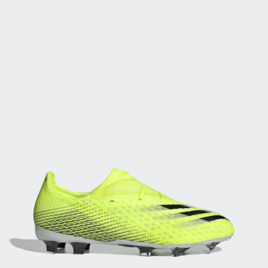 Soccer Yellow X Ghosted.2 Firm Ground Cleats