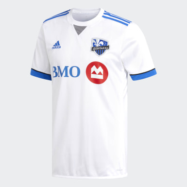 Men Soccer White Impact Montreal Away Jersey