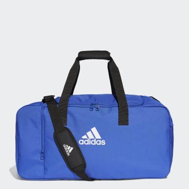 Maleta deportiva de deporte mediana Tiro Azul Fútbol