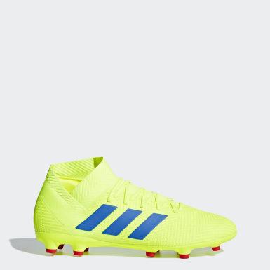Botas de Futebol Nemeziz 18.3 – Piso Firme Amarelo Homem Futebol