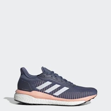 Kvinder Løb Blå Solar Drive 19 sko