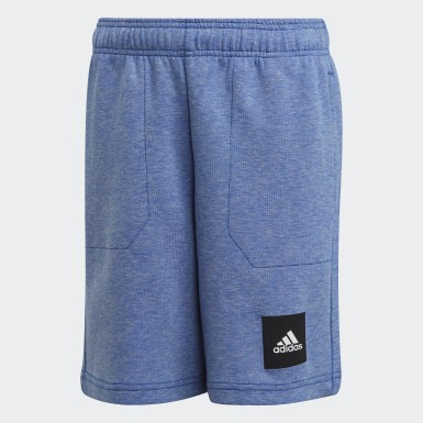 Youth 8-16 Years Training Blue Must Haves Shorts