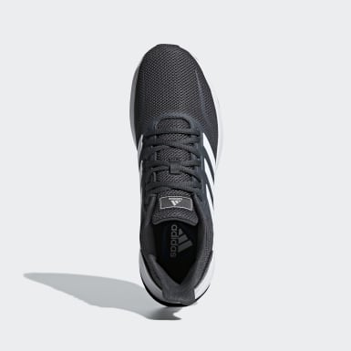 Men Running Grey Runfalcon Shoes