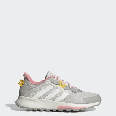 Women Sport Inspired Grey Quesa Trail X Shoes
