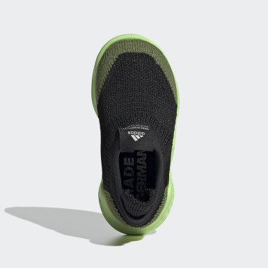 Kids Training Green Pure Runner Shoes
