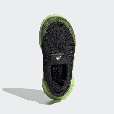 Kids Training Green Pure Runner Shoes