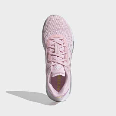 Women Running Pink Galaxar Run Shoes