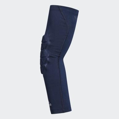 Men's Training Blue Alphaskin Force Padded Elbow Sleeve