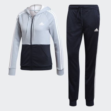 Women Athletics Blue Game Time Track Suit