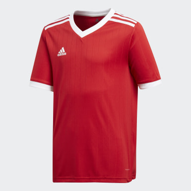 Maillot Tabela 18 rouge Adolescents Soccer
