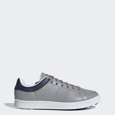 Men Golf Grey Adicross Classic Shoes