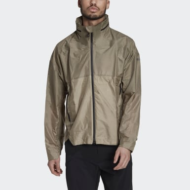 Terrex TX MS Windweave Windbreaker Zielony