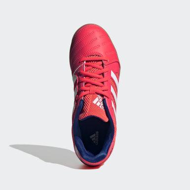 Sapatos Top Sala Rosa Criança Futebol