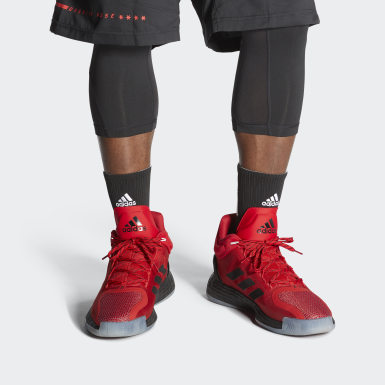 Chaussure D Rose 11 Rouge Hommes Basketball
