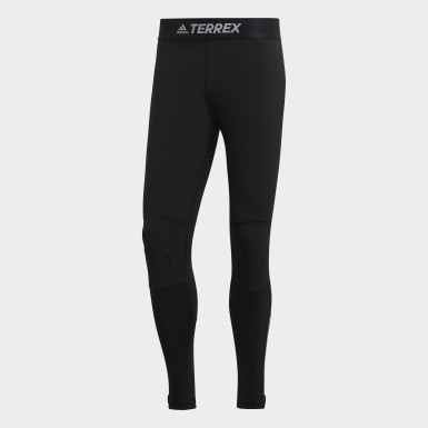 Men's Climbing Black Terrex Agravic Tights