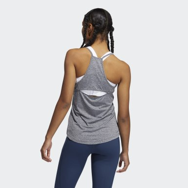 Frauen Cross Training Performance Tanktop Schwarz