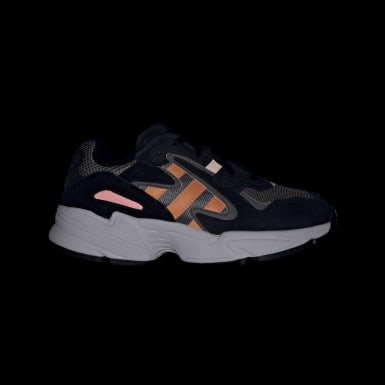 Sapatos Yung-96 Chasm Preto Criança Originals