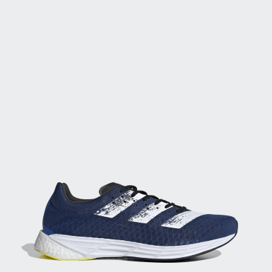 Men Running Blue Adizero Pro Shoes