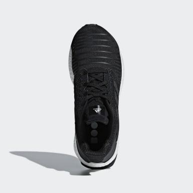 Kvinder Løb Sort Solar Boost sko
