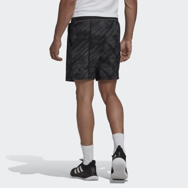 SHORT ERGO TENNIS PRINTED AEROREADY Nero Uomo Tennis