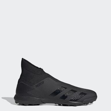 Ποδόσφαιρο Μαύρο Predator 20.3 Laceless Turf Boots