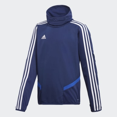 Youth 8-16 Years Training Blue Tiro 19 Warm Top