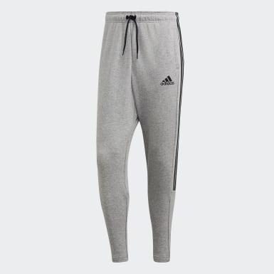 Men Athletics Grey Must Haves 3-Stripes Tiro Pants