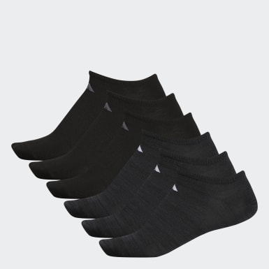 Men's Training Black Superlite Ankle Socks 6 Pairs