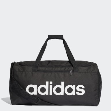 Bolso Deportivo Mediano Linear Core Negro Athletics