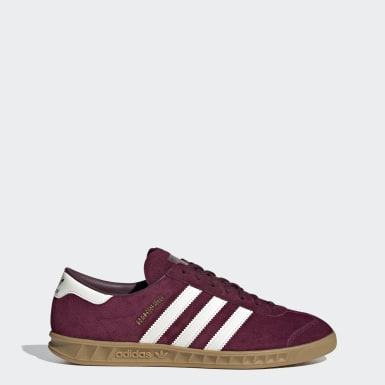 Sapatos Hamburg Bordô Originals