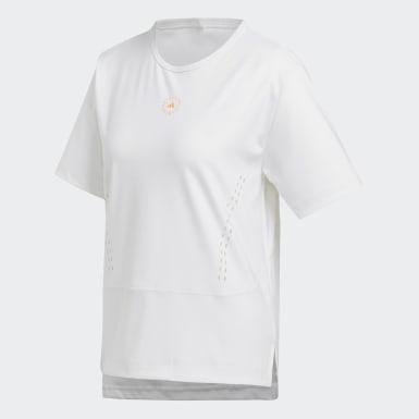 Women adidas by Stella McCartney White TRUESTRENGTH Loose T-Shirt
