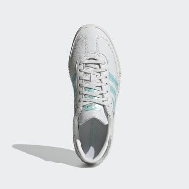 Sapatos SAMBAROSE Swarovski® Branco Mulher Originals