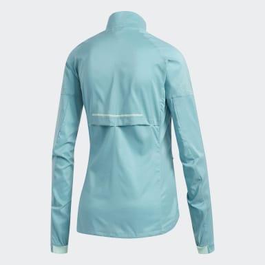 бирюзовый Куртка для бега Supernova Confident Three Season
