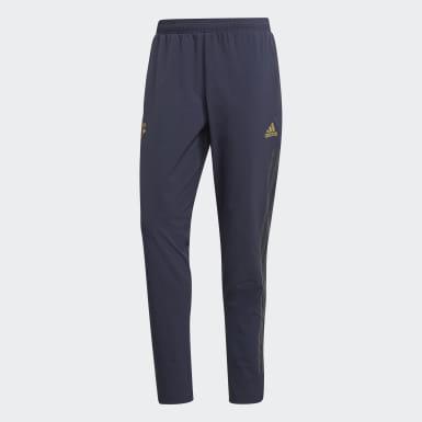 Pantalon d'entraînement Manchester United Ultimate Bleu Hommes Football