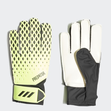 Youth 8-16 Years Football Green Predator 20 Training Goalkeeper Gloves