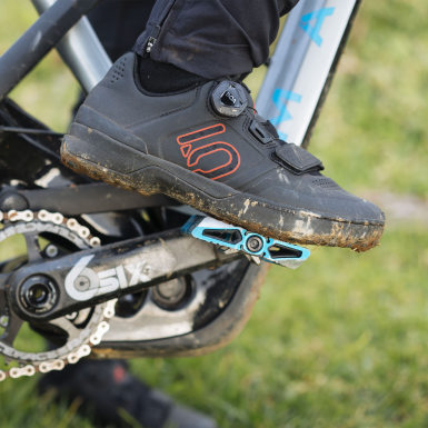 Heren Five Ten Zwart Five Ten Kestrel Pro Boa Mountain Bike Schoenen
