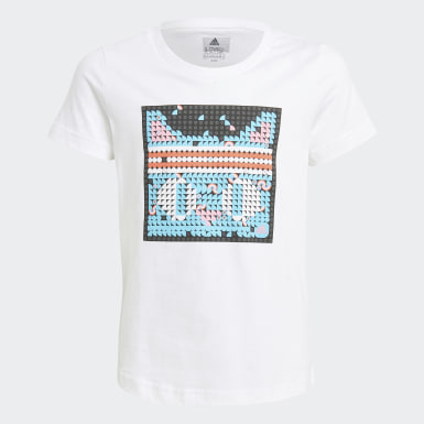 белый Футболка adidas x LEGO® DOTS™ Graphic