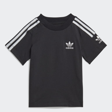 Børn Originals Sort New Icon T-shirt