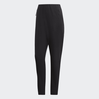 Women Training Black Track Pants