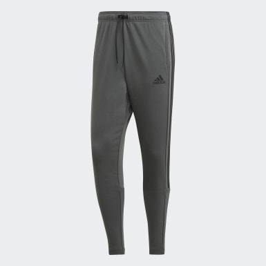 Men Athletics Grey Must Haves 3-Stripes Tiro Joggers