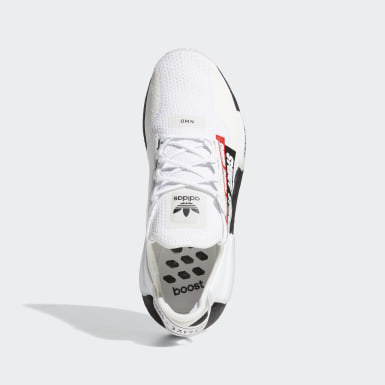Men's Originals White NMD_R1 V2 Shoes