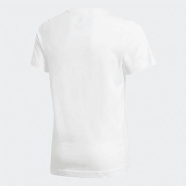 Camiseta London Badge of Sport Small Blanco Niño Training