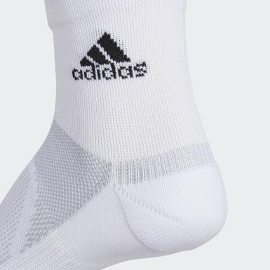 Men's Training White Superlite Prime Mesh III Quarter Socks 2 Pairs
