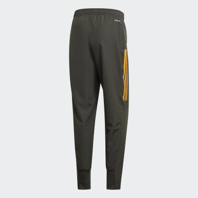 Pantalon de présentation Manchester United Vert Hommes Football