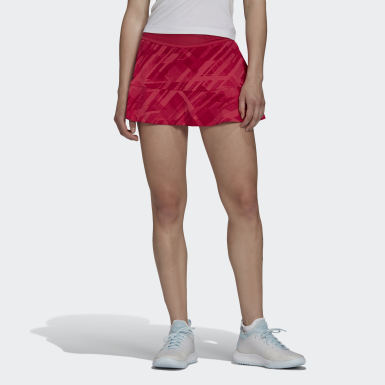 Women Tennis Pink TENNIS MATCH SKIRT HEAT.RDY