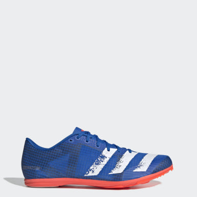 Men's Running Blue Distancestar Spikes